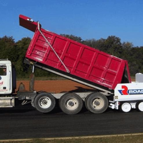 Asphalt RFL Truck Tarps