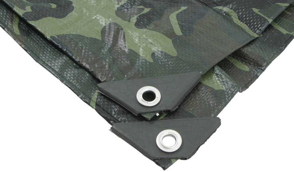 Kitnaster Supplies Camo Camouflage Waterproof Tarp Tarpaulin Ground Sheet Cover 80GSM Heavy Duty