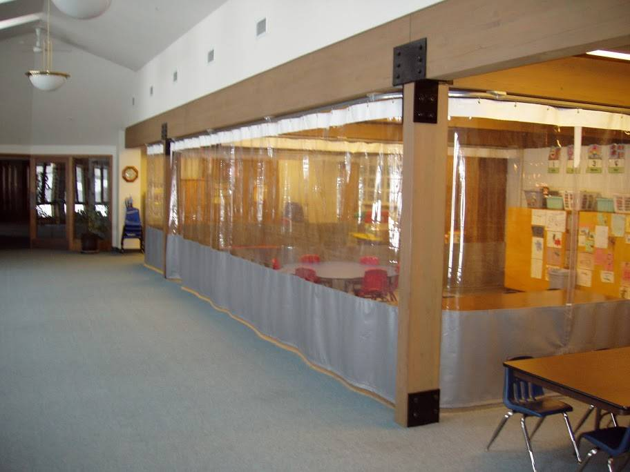 Clean Room Curtain Partitions