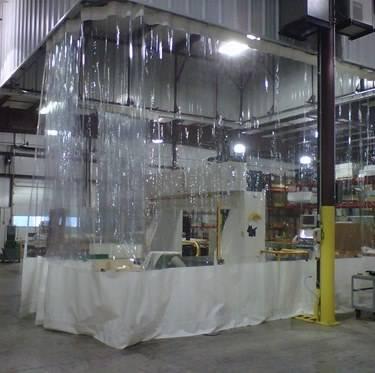 Clear Vinyl Curtains Clear Curtains Tarpsnow