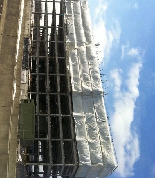 Building Enclosure Tarps