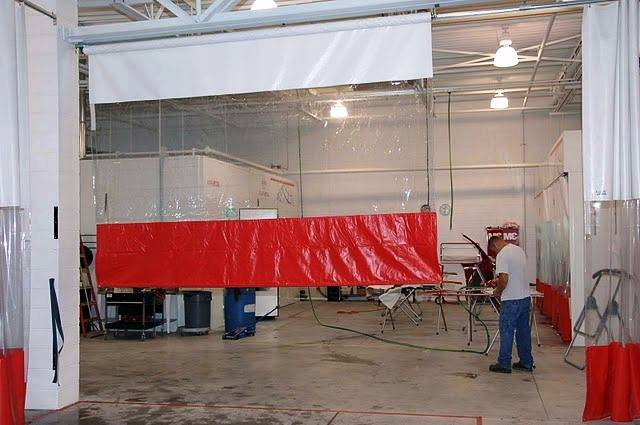 Industrial Roll-Up Curtains