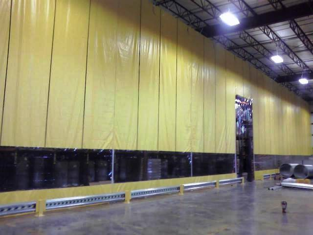 Industrial Divider Curtain Partitions