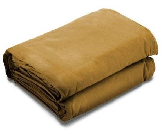 Tan Canvas Tarps - 16 oz. - Water Resistant