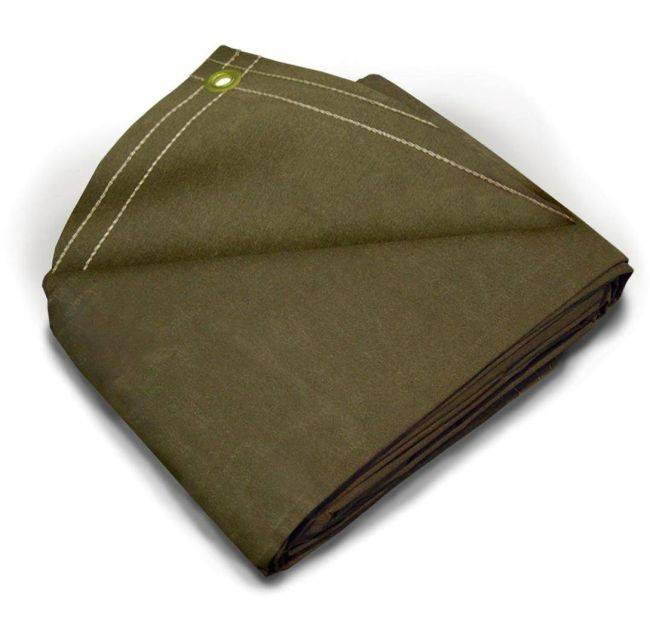 In Stock Water Resistant Canvas Tarps