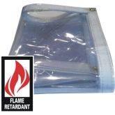 Clear Vinyl Fire Retardant Tarps