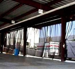 custom mesh screen curtains
