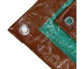 Brown and Green Poly Tarp
