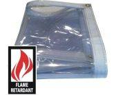 Clear Vinyl Fire Retardant Tarps