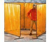Freestanding Four Panel Welding Screen
