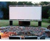 Outdoor Movie Screen Tarp