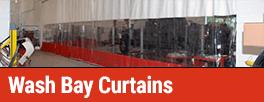 Wash Bay Curtains